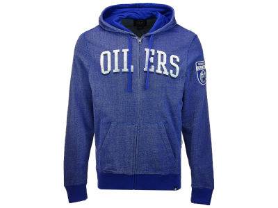 Edmonton Oilers '47 NHL Men's Top Grain Full Zip Hoodie