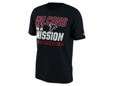 Atlanta Falcons Nike NFL Men's Super Bowl LI Bound On A Mission T-Shirt
