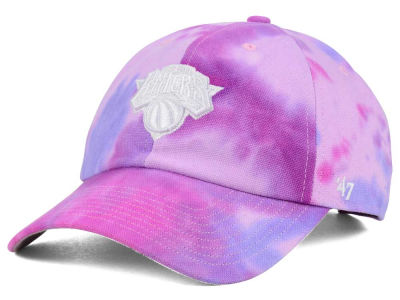 New York Knicks '47 Pink Tie-Dye CLEAN UP Cap