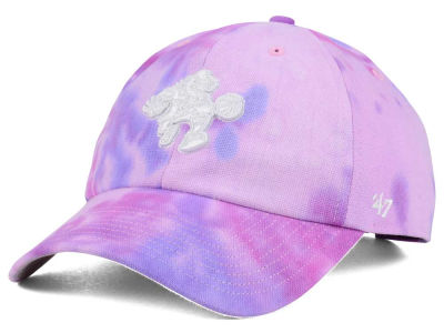 Philadelphia 76ers '47 NBA Pink Tie-Dye '47 CLEAN UP Cap