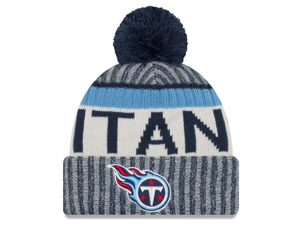 Tennessee Titans New Era 2017 NFL Sport Knit  f33be9239