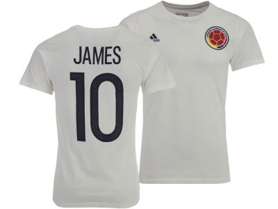 Colombia James Rodriguez adidas Men's National Team Jersey Hook Player T-Shirt