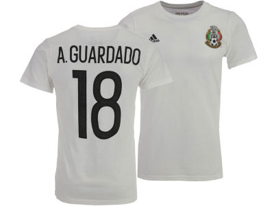 Mexico Andres Guardado adidas Men's National Team Jersey Hook Player T-Shirt