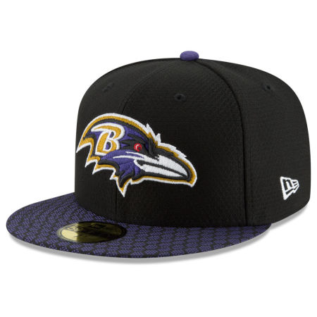 Baltimore Ravens New Era 2017 Official NFL Sideline 59FIFTY Cap