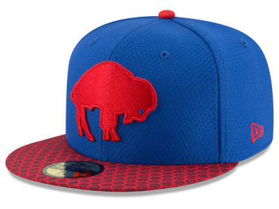 Buffalo Bills New Era 2017 Official NFL Sideline 59FIFTY Cap
