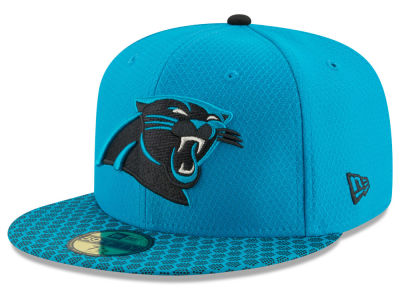 Carolina Panthers New Era 2017 Official NFL Sideline 59FIFTY Cap