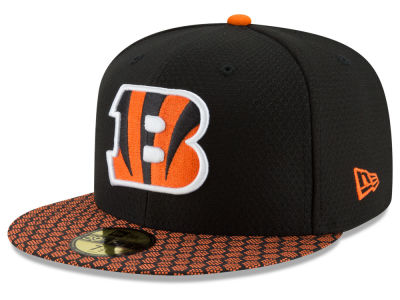 Cincinnati Bengals New Era 2017 Official NFL Sideline 59FIFTY Cap