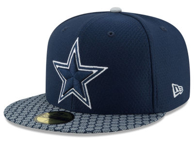 Dallas Cowboys New Era 2017 Official NFL Sideline 59FIFTY Cap