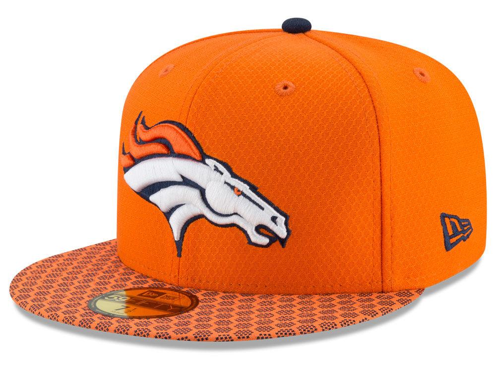 Denver Broncos New Era 2017 Official NFL Sideline 59FIFTY Cap  47e7268da