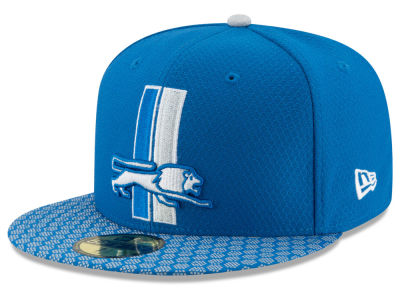 Detroit Lions New Era 2017 Official NFL Sideline 59FIFTY Cap