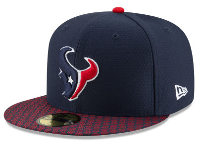 Houston Texans New Era 2017 Official NFL Sideline 59FIFTY Cap