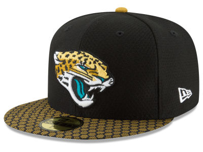 Jacksonville Jaguars New Era 2017 Official NFL Sideline 59FIFTY Cap