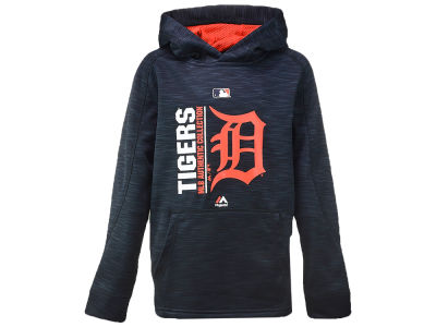 Detroit Tigers Majestic MLB Youth Team Icon Hoodie