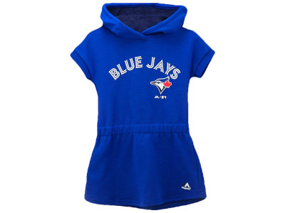 Toronto Blue Jays Majestic MLB Toddler Girls Celebrate Dress