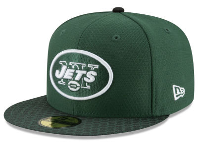 New York Jets New Era 2017 Official NFL Sideline 59FIFTY Cap