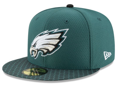 Philadelphia Eagles New Era 2017 Official NFL Sideline 59FIFTY Cap