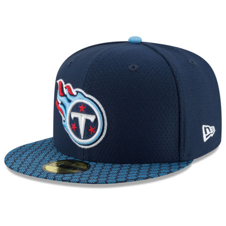 Tennessee Titans New Era 2017 Official NFL Sideline 59FIFTY Cap