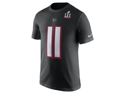 Atlanta Falcons Julio Jones Nike NFL Men's Super Bowl LI Bound Name Number T-Shirt
