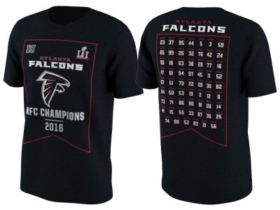 Atlanta Falcons Nike NFL Men's Super Bowl LI Bound Roster T-Shirt