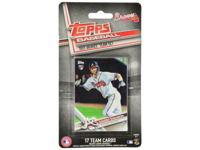 Atlanta Braves Team Card Set - 2017