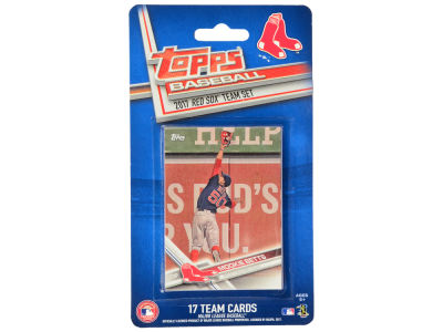 Boston Red Sox Team Card Set - 2017