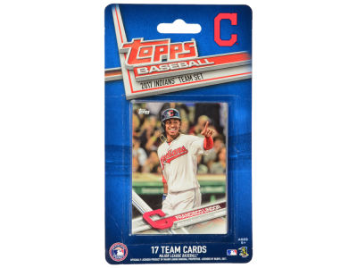 Cleveland Indians Team Card Set - 2017
