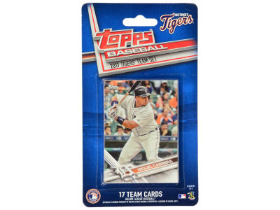 Detroit Tigers Team Card Set - 2017