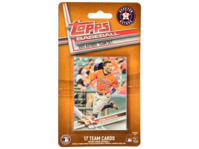 Houston Astros Team Card Set - 2017