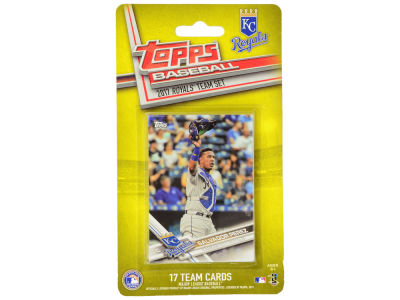 Kansas City Royals Team Card Set - 2017