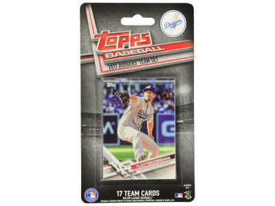 Los Angeles Dodgers Team Card Set - 2017
