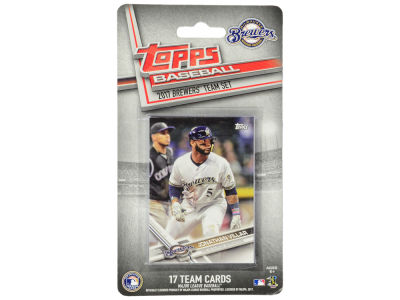 Milwaukee Brewers Team Card Set - 2017