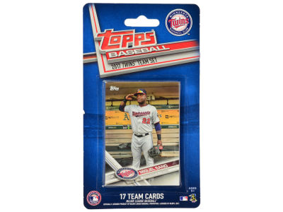 Minnesota Twins Team Card Set - 2017