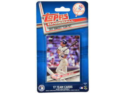 New York Yankees Team Card Set - 2017