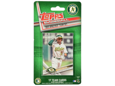 Oakland Athletics Team Card Set - 2017