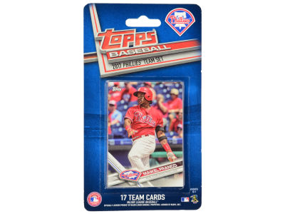 Philadelphia Phillies Team Card Set - 2017
