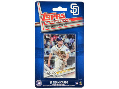 San Diego Padres Team Card Set - 2017
