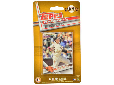 San Francisco Giants Team Card Set - 2017