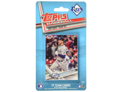 Tampa Bay Rays Team Card Set - 2017