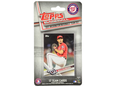 Washington Nationals Team Card Set - 2017