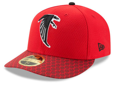 Atlanta Falcons New Era 2017 Official NFL Low Profile Sideline 59FIFTY Cap