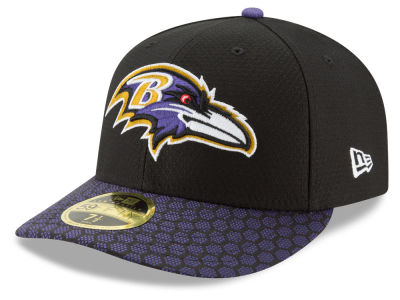 Baltimore Ravens New Era 2017 Official NFL Low Profile Sideline 59FIFTY Cap