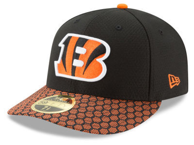 Cincinnati Bengals New Era 2017 Official NFL Low Profile Sideline 59FIFTY Cap
