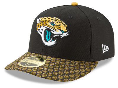 Jacksonville Jaguars New Era 2017 Official NFL Low Profile Sideline 59FIFTY Cap