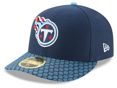 Tennessee Titans New Era 2017 Official NFL Low Profile Sideline 59FIFTY Cap
