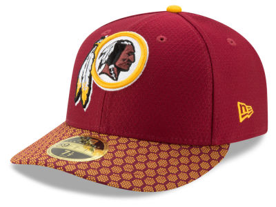 Washington Redskins New Era 2017 Official NFL Low Profile Sideline 59FIFTY Cap
