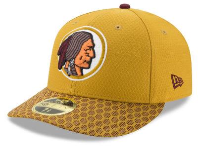 new concept 15da4 3081c Washington Redskins New Era 2017 Official NFL Low Profile Sideline 59FIFTY  Cap
