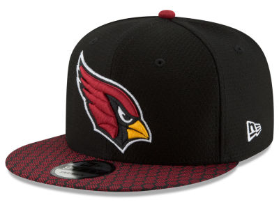 Arizona Cardinals New Era 2017 NFL Official Sideline 9FIFTY Snapback Cap