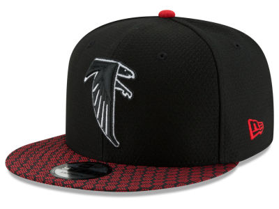 Atlanta Falcons New Era 2017 NFL Official Sideline 9FIFTY Snapback Cap
