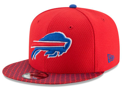 Buffalo Bills New Era 2017 NFL Official Sideline 9FIFTY Snapback Cap