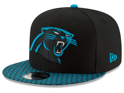 Carolina Panthers New Era 2017 Official NFL Sideline 9FIFTY Snapback Cap